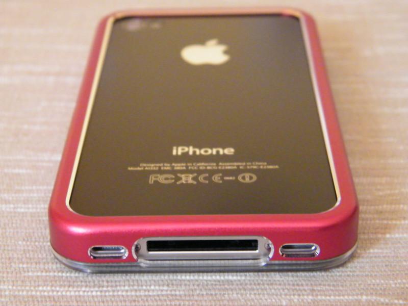Foto dai lettori: iPhone 4 bianco con custodia Pinlo Slice3 Clear
