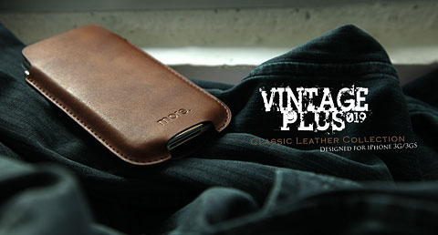 More-Thing Vintage Plus Leather Case