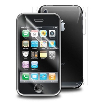 Skin ZAGG Invisible Shield per iPhone 3GS