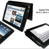 Piel Frama Snap Closure per iPad