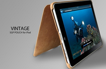 SGP Leather Vintage Edition per iPad