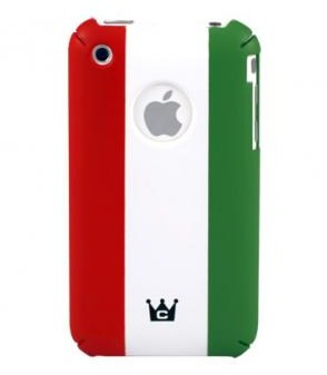 Case Crown Italy Flag Case per iPhone 3GS
