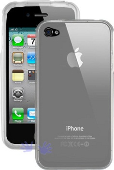 HandHeldItems TPU Case Clear per iPhone 4