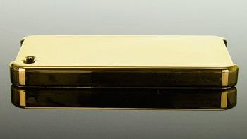 Ideal-Case Elite Series Metallic Gold per iPhone 4