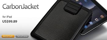 ION-factory CarbonJacket in fibra di carbonio per iPad