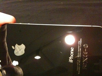 Righe e Graffi sul dorso di iPhone 4