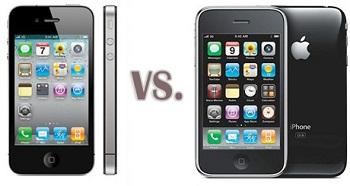 iPhone 3GS contro iPhone 4
