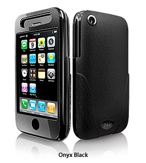iSkin Enigma Onyx Black per iPhone