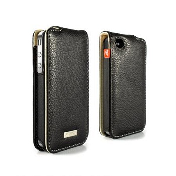 Proporta Aluminium Lined Leather Case per iPhone 4
