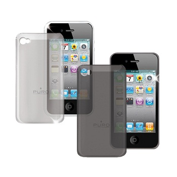 Puro Crystal Cover per iPhone 4