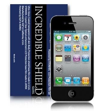 SGP Incredible Shield Ultra Coat per iPhone 4