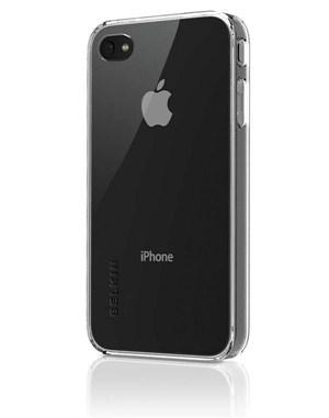 Custodia Belkin Shield Micra Clear per iPhone 4