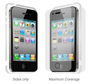 InvisibleSHIELD Save Your Signal per iPhone 4