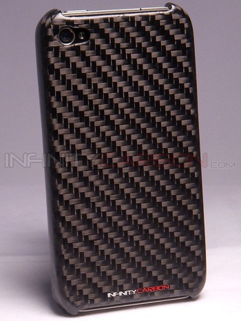 Infinity Carbon Case Black per iPhone 4