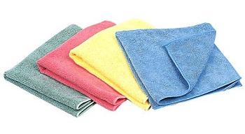 Pannetti di pulizia in microfibra per iPhone e iPad