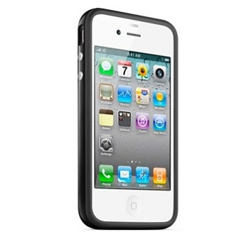 APPLE IPHONE 4 BUMPERS BLACK-ZML MC597ZM/A