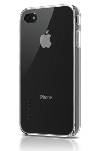 Belkin Shield Micra Clear per iPhone 4