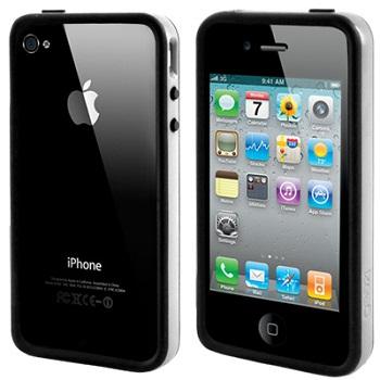 Bumper Gear4 The Band Grey Black per iPhone 4