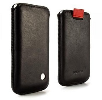 Custodia a pochette Proporta Alu-Leather per iPhone 4