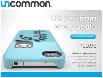 Uncommon Deflector Case per iPhone 4