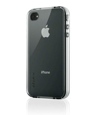 Belkin Grip Vue Clear per iPhone 4