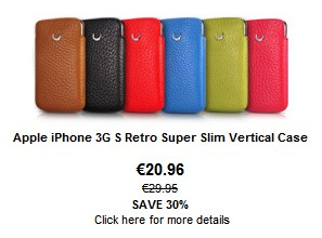 BeyzaCases Retro Super Slim Vertical Case