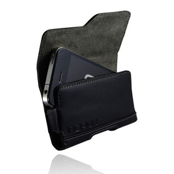Incipio Premium Leather Holster per iPhone 4