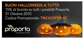 Promo -15% Proporta per Halloween 2010