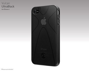 SwitchEasy Vulcan Ultra Black per iPhone 4