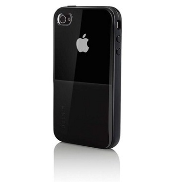 Belkin Shield Eclipse Black per iPhone 4