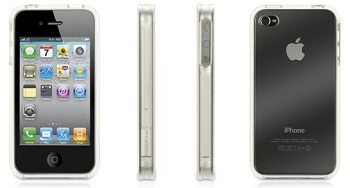 Griffin FlexGrip Clear per iPhone 4