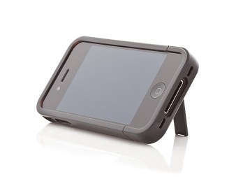 iKit Gloss Black Flip Case per iPhone 4