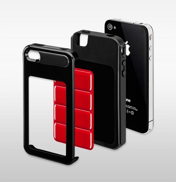SwitchEasy Odyssey Black per iPhone 4