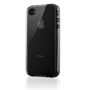 Belkin Grip Vue v2 Black Pearl per iPhone 4