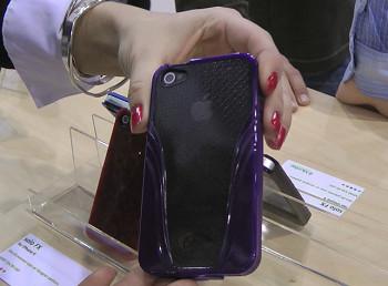 iSkin Solo VU per iPhone 4 (CES 2011)