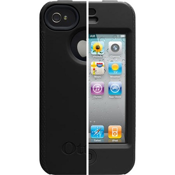 OtterBox Impact Series Case Black per iPhone 4