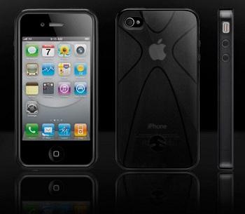 SwitchEasy Vulcan UltraBlack per iPhone 4