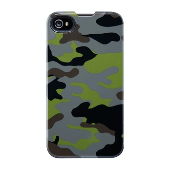 Agent18 SlimShield Limited Green Camo per iPhone 4