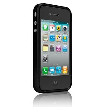 Case-Mate Jett Metal Case Black per iPhone 4