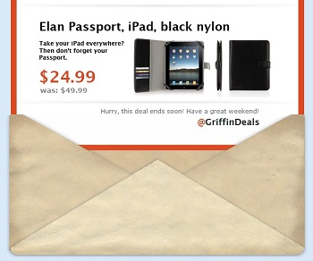GriffinDeals #2: custodie Elan Passport per iPad