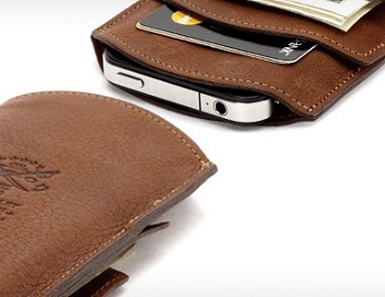 Griffin No. 50 Wallet Col. Littleton per iPhone 4 e 3GS