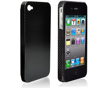 LUXA2 Esbelto Genuine Carbon Fiber Case per iPhone 4