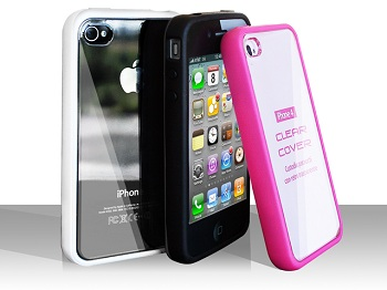 Puro Clear Covers per iPhone 4