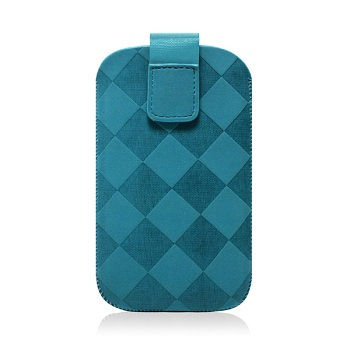 Custodia Puro in Nabuk per iPhone 4 e 3GS