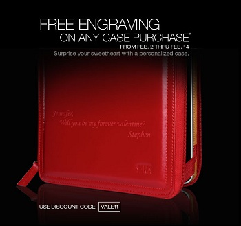 Coupon VALE11 Incisione Gratuita da Sena Cases
