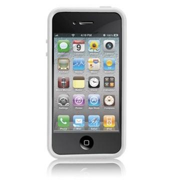 Case-Mater Hula Bumper Case White per iPhone 4