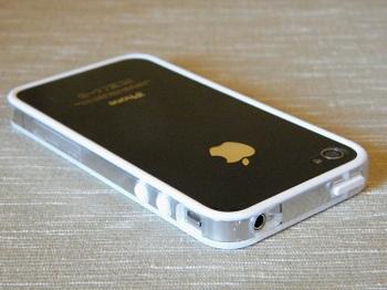 Bumper Case-Mate Hula White per iPhone 4