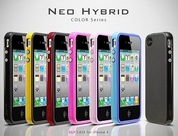 SGP Neo Hybrid Color Series per iPhone 4