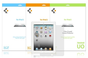 SGP Ultra Optics Screen Protector per iPad 2
