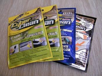 Gamma prodotti CyberClean 2011 offerti con il contest